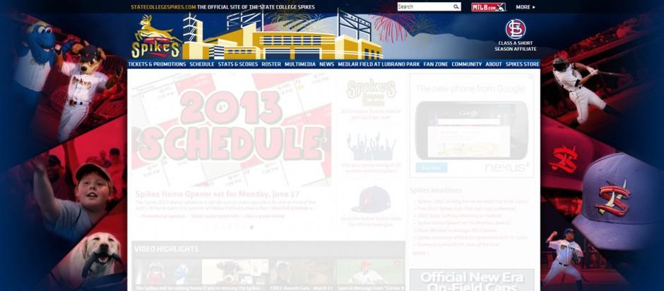 Spikes Website Header