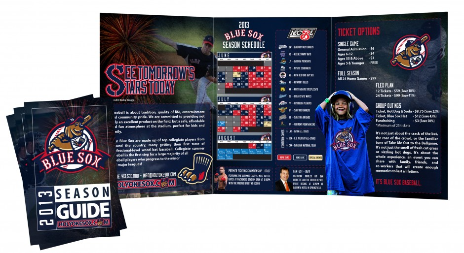 Blue Sox Season Guide